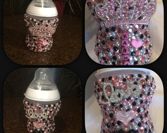 Custom Bling Baby Bottle