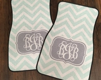 Personalized Car Mats- Monogrammed Automobile Mat - Initial Car Mat - Monogrammed Gifts