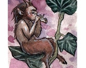 Faun - Limited Edition ACEO print