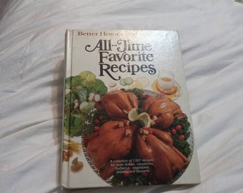 On Sale Better Homes and Gardens All Time Favorites Recipes 1979 Cook Book for Menu and Meal Planning