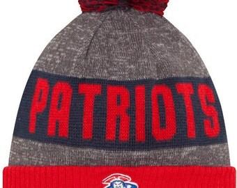 New England Patriots Knit Beanie Hat