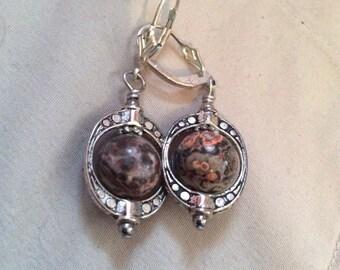 Marble earrings 1 in