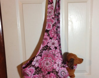 Handmade Dog Sling Carrier