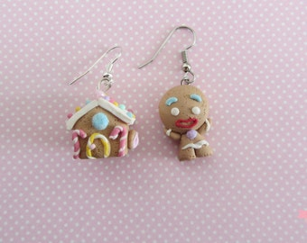 "Earrings ""Home  Sweet home"""