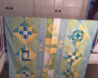 Pieced Block Quilt