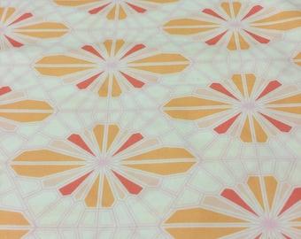 Pink + Orange Geo Crib Sheet