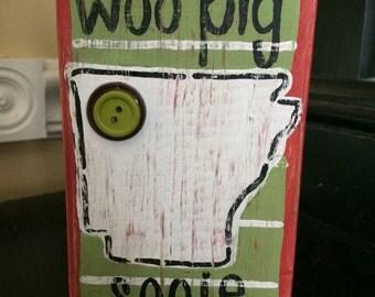 Arkansas wooden block