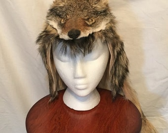 Genuine Coyote Mountain Man Hat