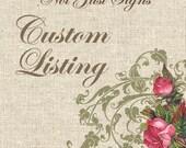 Custom Listing for robindoherty2