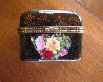 Hinged Trinket Box