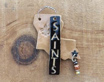 New Orleans Saints Christmas Ornament