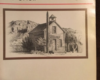 How to Draw and Paint Buildings In Pencil Vintage book FREE SHIPPING