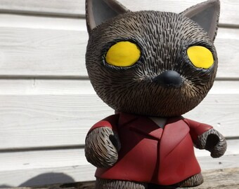 "Kidrobot Trikky Vinyl Toy 'The Wolf'  7"" Custom Vinyl Art-Toy"