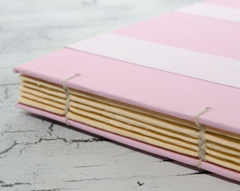 Small Pink Coptic Book