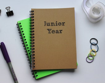 Junior Year - 5 x 7 journal