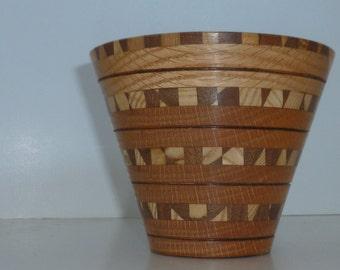 Wood Bowl, segmented