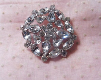 Spring Sale - Vintage Rhinestone Brooch or Pin for Mother's Day