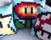 Nintendo Pixel Pillows - Made to Order