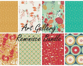 Art Gallery Reminisce Collection Fabric Bundle - 100% Cotton - Fabric Sale