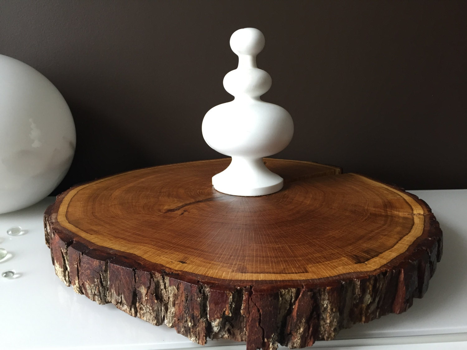large wedding cake stands wood cake stands sliced wood