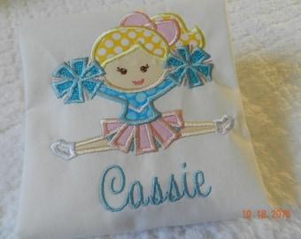Cheerleader Shirt, Custom Cheer Shirt