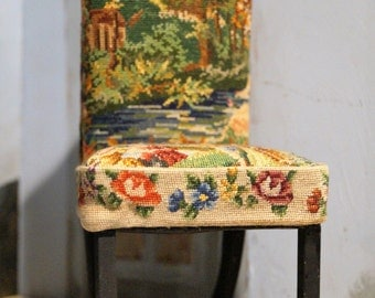 SALE: Playscale Petit Point Side Chair