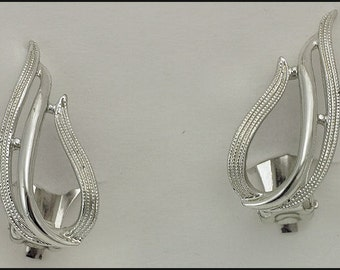 Vintage Sarah Coventry Silver Tone Brooch and Clip On Earrings