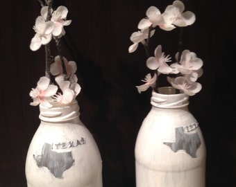 Upcycled Texas Tea Vase