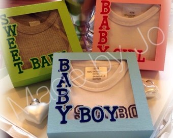 Baby boxes. Digital cutting file.