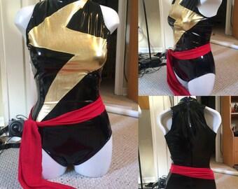 Ms Marvel costume in PVC