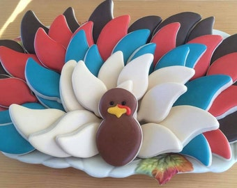 Turkey / Thanksgiving cookies