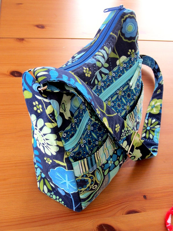 My Easy Going Purse Pdf Sewing Pattern Tutorial For