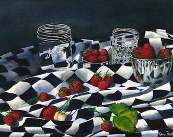 Jelly or Jam? - Giclee Print by Karen Frattali