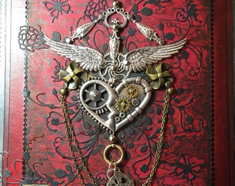 Steampunk . Follow your heart  journal .