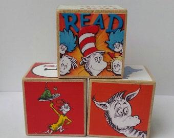 Dr. Seuss Wood Blocks