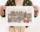 London -  Limited Edition Artwork Reproduction