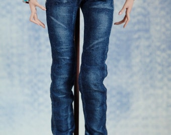 Jeans for Popovy Sisters Doll (both body types) and Enchanted Doll (resin and porcelain)