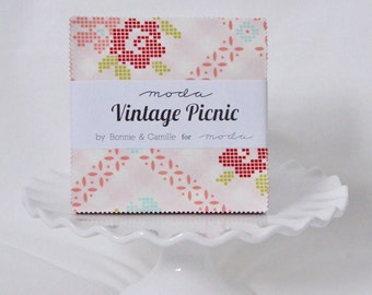 Vintage Picnic Charm Pack by Bonnie and Camille for Moda Fabrics