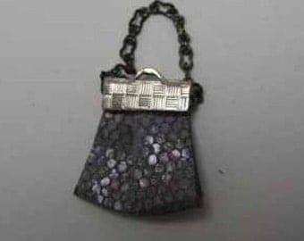 Purse - dollhouse miniature 1:12 scale