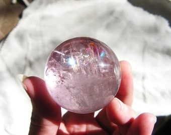 Amethyst Crystal Sphere, crystal ball, metaphysical, new age, magic, wicca #1
