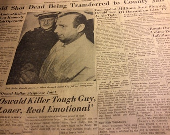 JFK 11/25/63. Not front page
