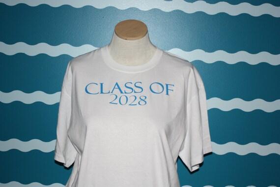 Graduation shirt - class of t-shirt - senior of 2028 - senior of 2028 - senior shirt - class of 2028 t-shirt - custom school shirt