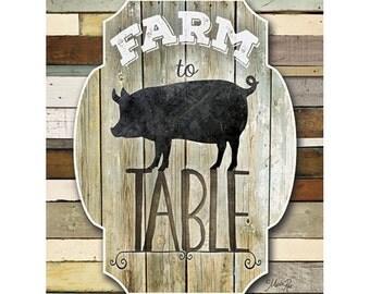 MA2138 - Farm to Table - 12 x 16