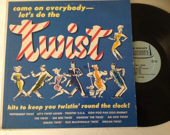 Fats and the Chessman - Come everybody let's twist LP Vintage Vinyl