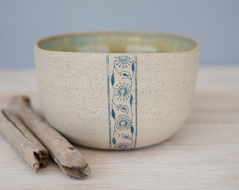 Handmade pottery, ceramic bowl, salad bowl, pottery bowl, serving bowl, minimalist ceramics, rustic pottery, holiday gift, made for order