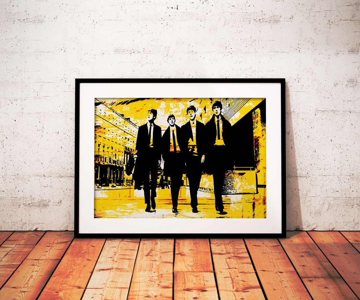 The Beatles Wall Art - Elitflat