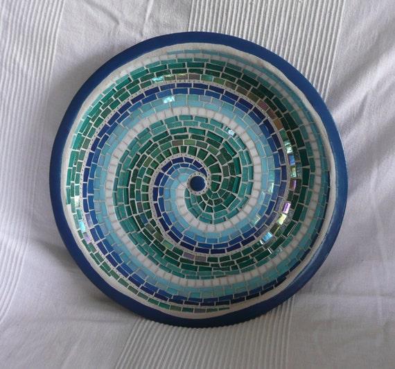 BIG Mosaic Bird Bath - Made to Order