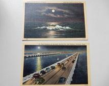 Galveston Texas 1940s Postcards