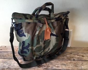 Camo camouflage bag tote