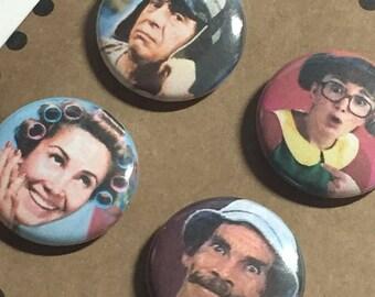 Chespirito / La Vecindad Button Pack